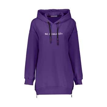 هودی ورزشی زنانه هالیدی مدل 851744-purple