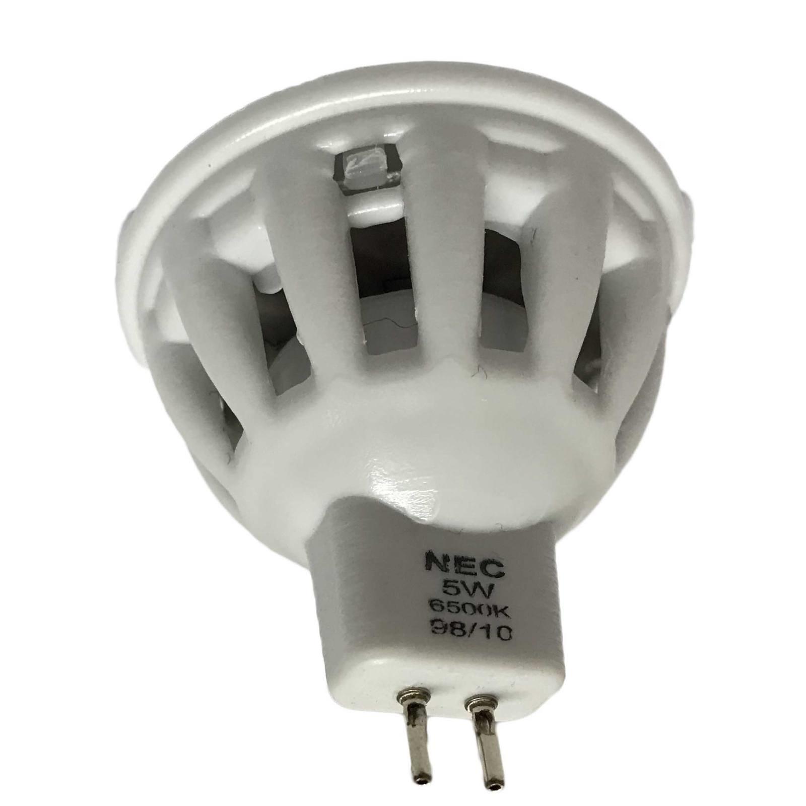 لامپ هالوژن 5 وات ان ای سی مدل LC03G پایه GU5.3 بسته 200 عددی