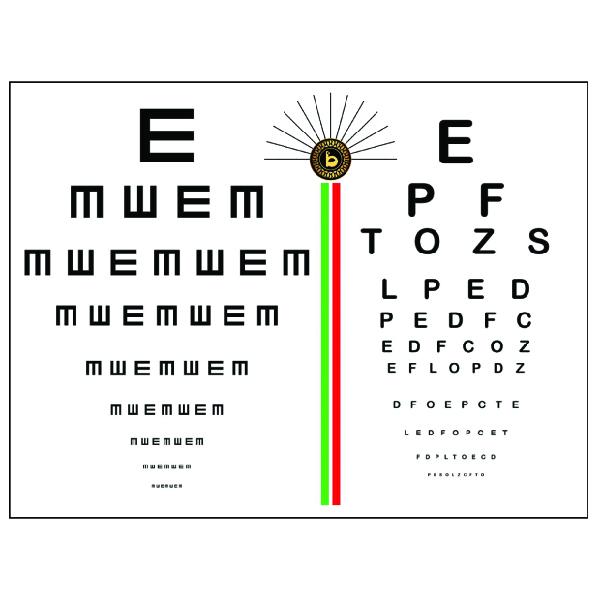 پوستر بینایی سنجی کد TFP102