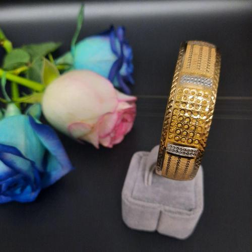 النگو طلا 18 عیار زنانه گالری یارطلا کد AL28-G-3