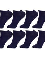 جوراب زنانه مستر جوراب کد BL-MRM 215 بسته 8 عددی -  - 1