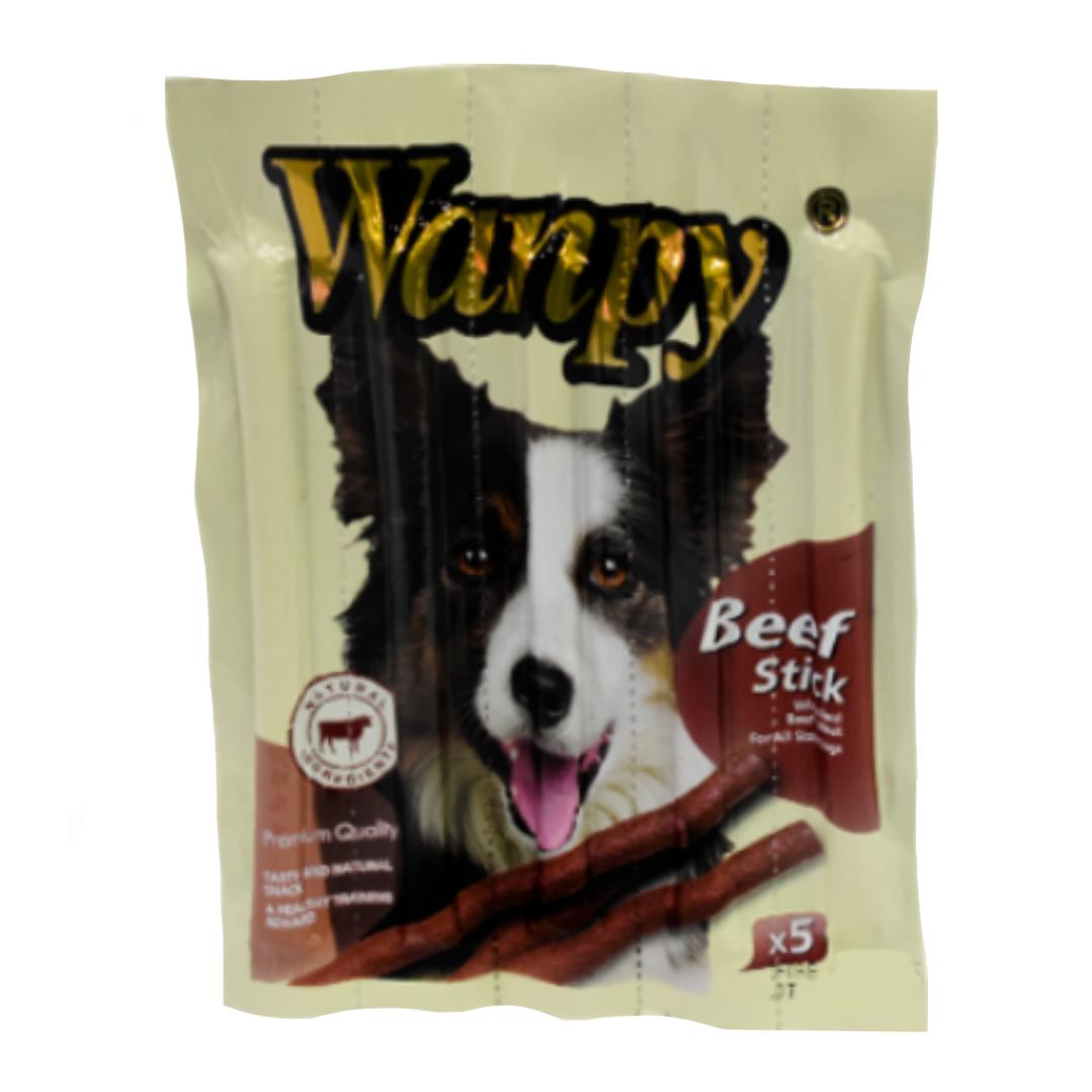 غذای تشویقی سگ ونپی مدل Beef_5 وزن ۵۰ گرم