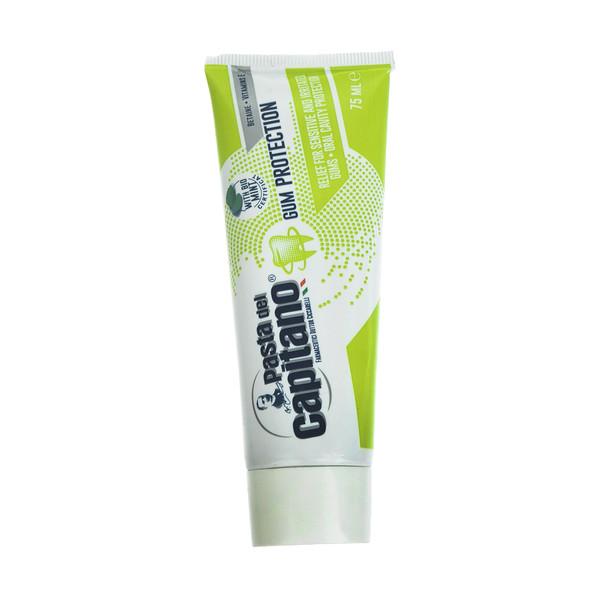 خمیر دندان پاستا دل کاپیتانو مدل Gum Protection حجم 75 میلی لیتر