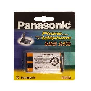 باتری تلفن بی سیم پاناسونیک مدل P104 بسته 6 عددی