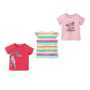 تیشرت نوزادی دخترانه لوپیلو کد 4487 مجموعه سه عددی