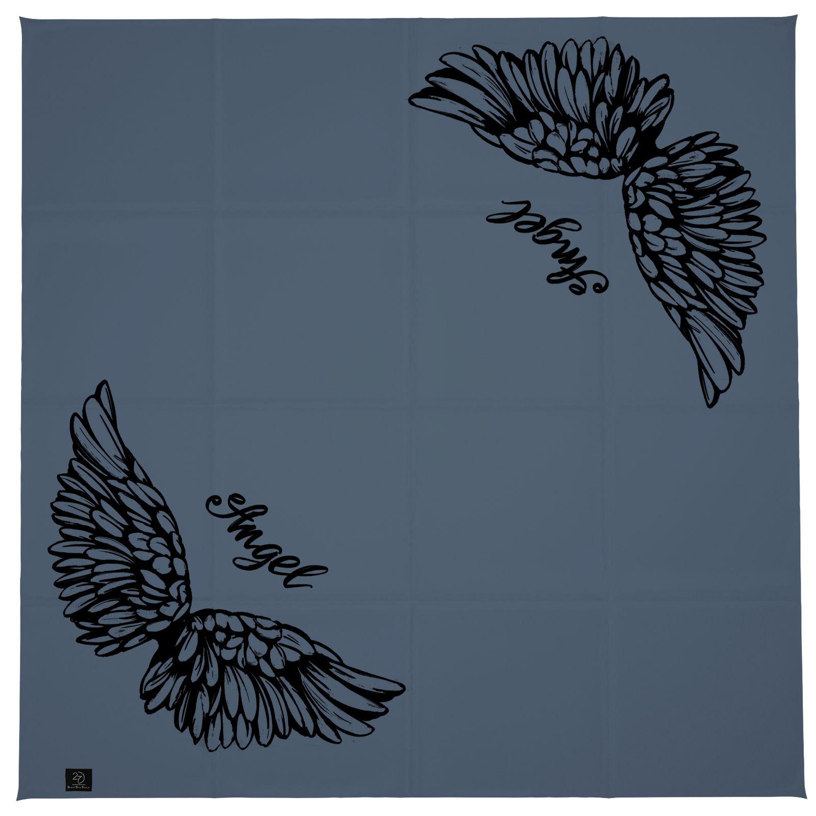 روسری زنانه 27 طرح angel کد H08 -  - 9