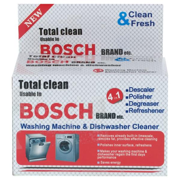 جرمگیر ماشین لباسشویی و ظرفشویی بوش مدل ETC وزن 400 گرم بسته 5 عددی