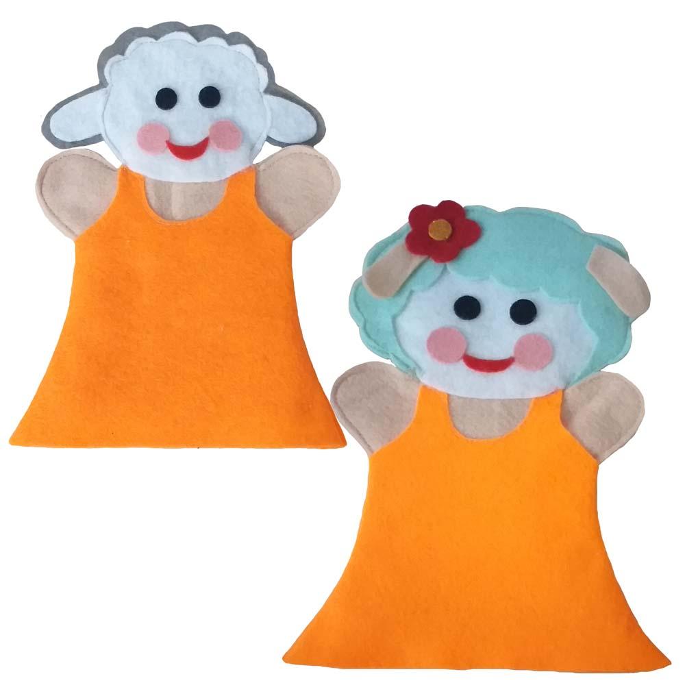 عروسک نمایشی طرح ببعی و ببعو مجموعه ۲ عددی