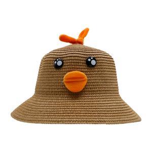 کلاه بچگانه مدل جوجه اردک رنگ نسکافه ایی