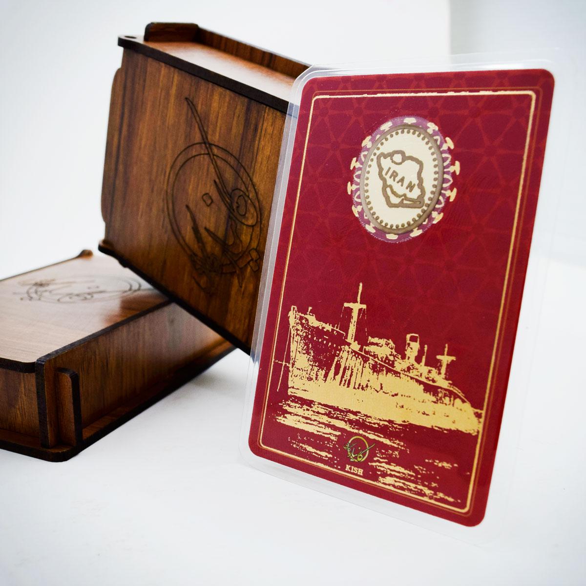 طلا گرمی 18 عیار کانیار گالری طرح کشتی یونانی کیش کد 66 main 1 5