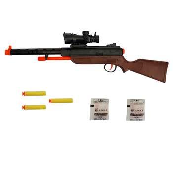 تفنگ بازی مدل WAR SPIRIT کد 01 مجموعه 6 عددی