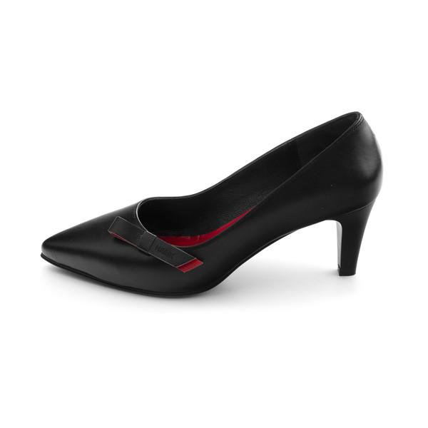 کفش زنانه مارال چرم مدل اسکای KH-Black
