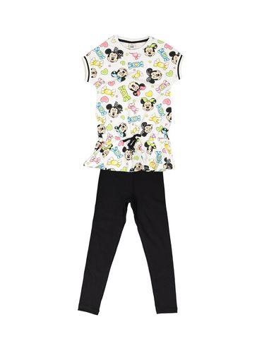 تی شرت و شلوار نخی دخترانه - بلوکیدز