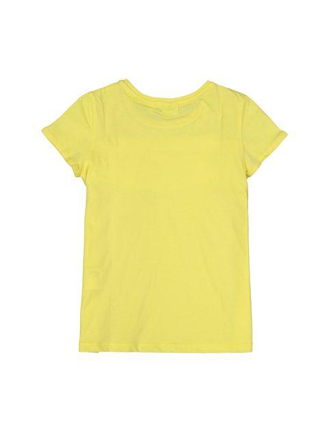 تی شرت یقه گرد دخترانه - بلوکیدز - زرد - 2
