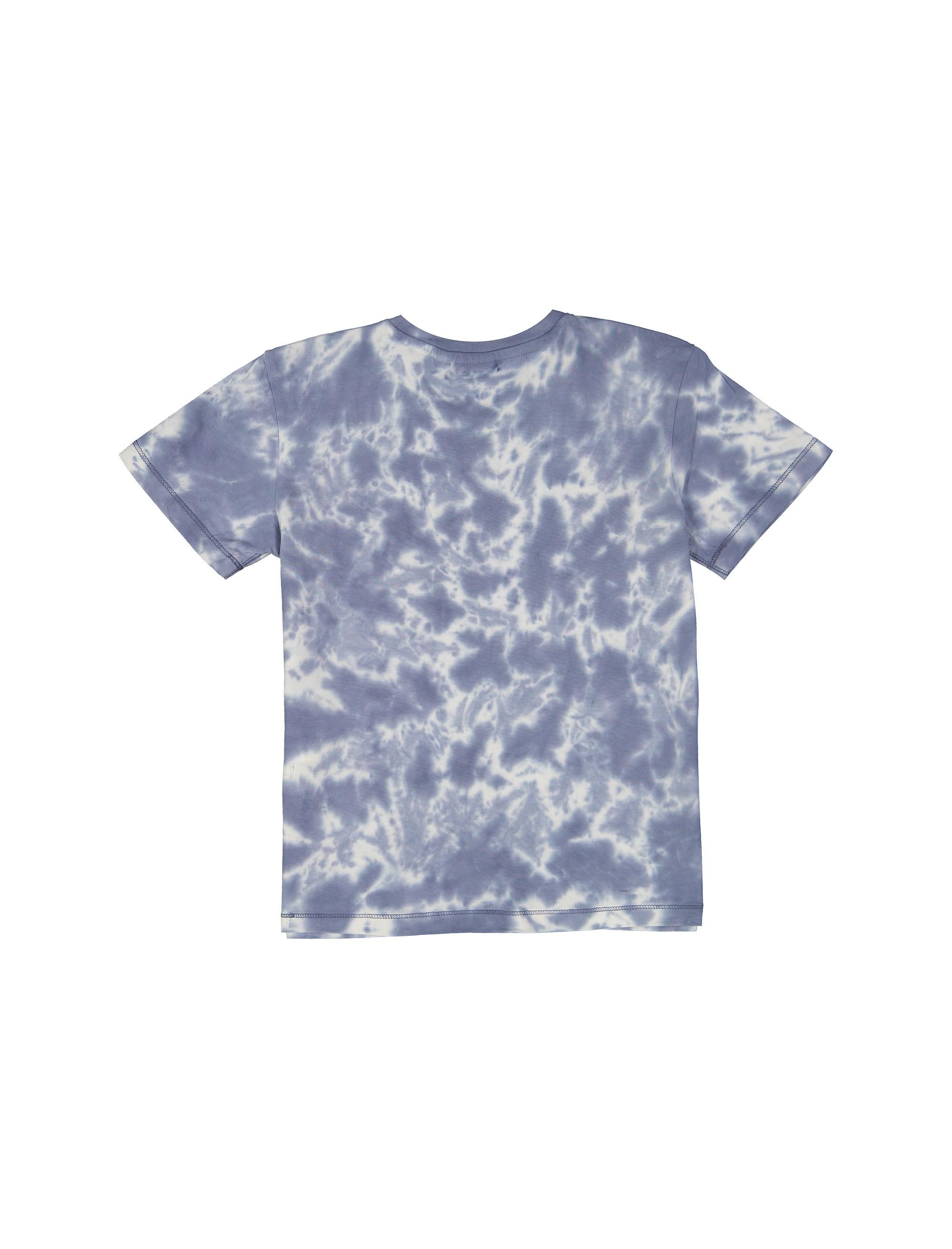 تی شرت نخی یقه گرد پسرانه - بلوکیدز - آبي - 2