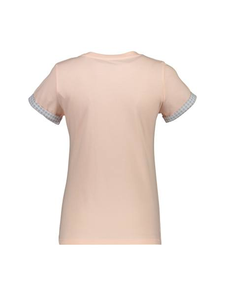 تی شرت و شلوار نخی زنانه طرح بره چهار خانه - گلبهي - 3