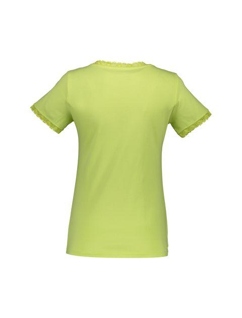 تی شرت و شلوار نخی زنانه خرس مهربان - سبز - 2