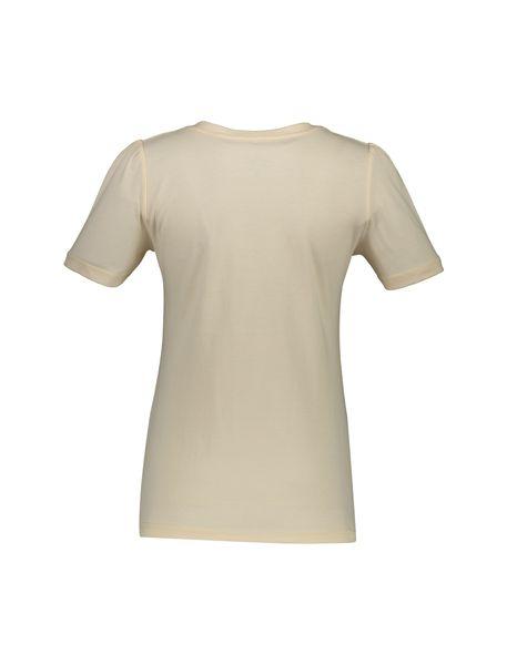 تی شرت و شلوار نخی زنانه طرح خرگوش و ستاره - گلبهي - 2