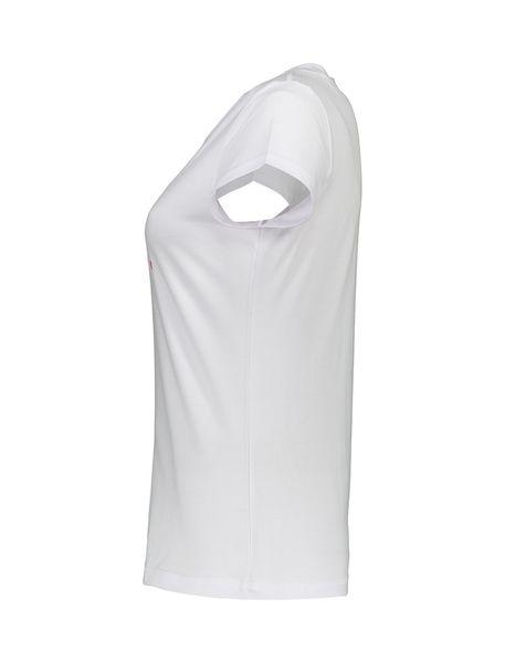تی شرت و شلوار راحتی نخی زنانه بهنوش - سفيد/زغالي - 4