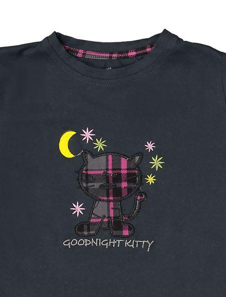 تی شرت و شلوار نخی بچگانه هیربد 1231 - زغالي - 4