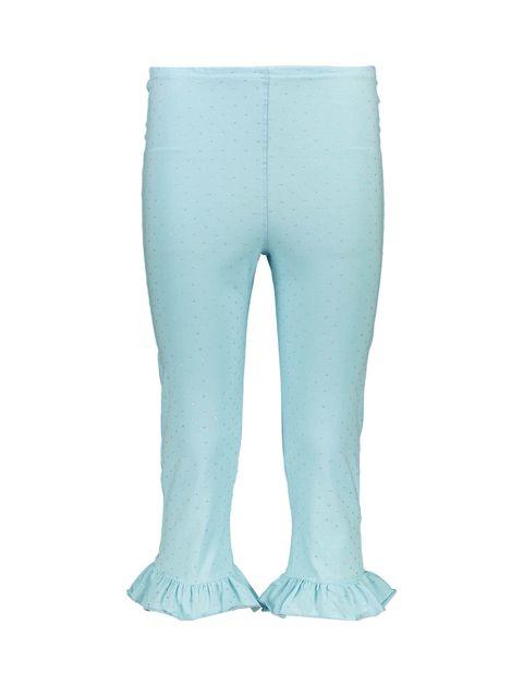 تی شرت و شلوارک نخی زنانه - ناربن - آبي روشن - 6