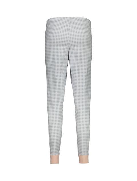 تی شرت و شلوار نخی زنانه طرح بره چهار خانه - ناربن - گلبهي - 8