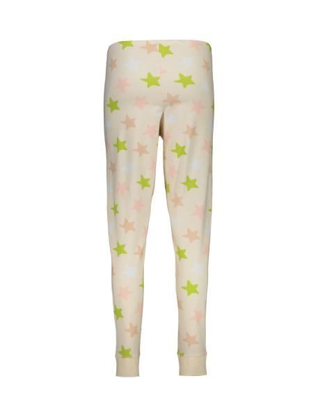 تی شرت و شلوار نخی زنانه طرح خرگوش و ستاره - گلبهي - 6