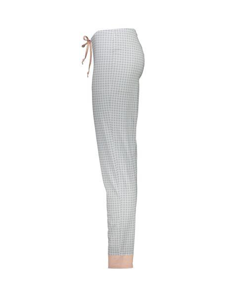 تی شرت و شلوار نخی زنانه طرح بره چهار خانه - گلبهي - 9