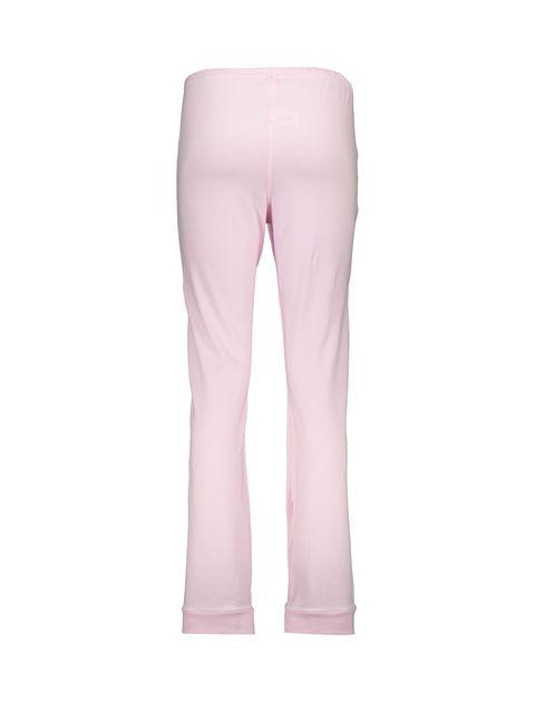 تی شرت و شلوار نخی زنانه طرح خرس خالدار - ناربن - صورتي - 8