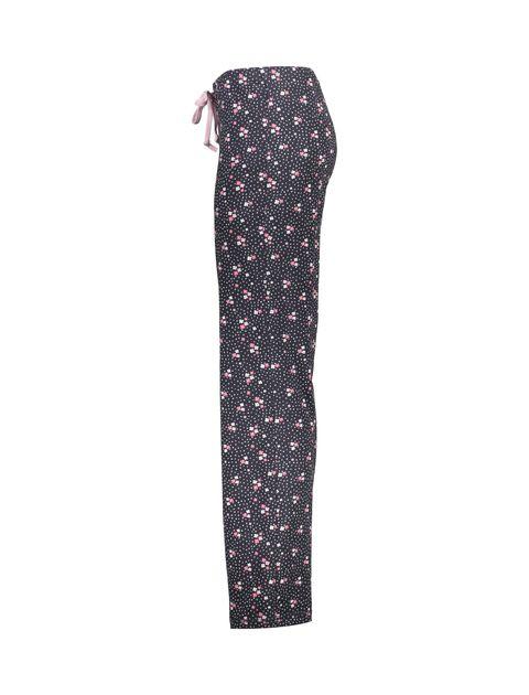 تی شرت و شلوار راحتی نخی زنانه بهنوش - ناربن - سفيد/زغالي - 9