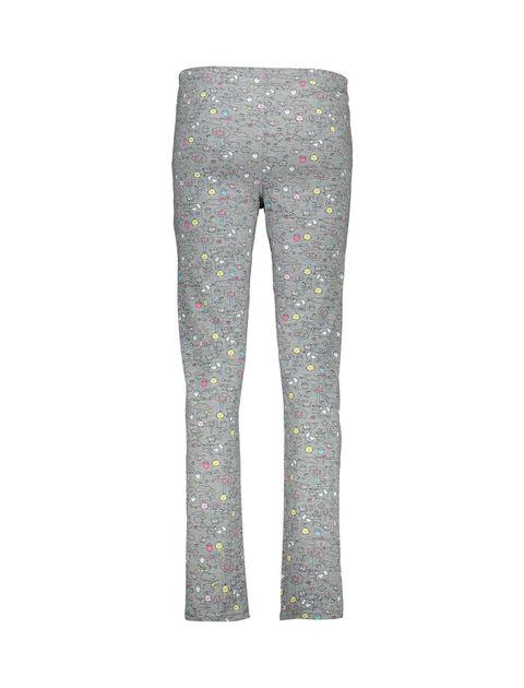 تی شرت و شلوار نخی زنانه مدل مزرعه شاد - ناربن - طوسي - 7