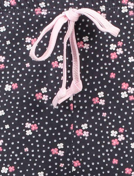 تی شرت و شلوار راحتی نخی زنانه بهنوش - سفيد/زغالي - 10