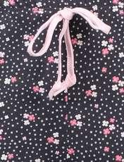 تی شرت و شلوار راحتی نخی زنانه بهنوش - ناربن - سفيد/زغالي - 10