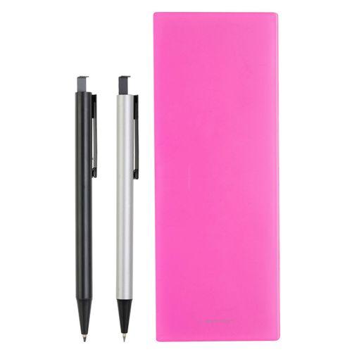 ست خودکار مدادنوکی و جامدادی لاتن مدل Ultra Pink