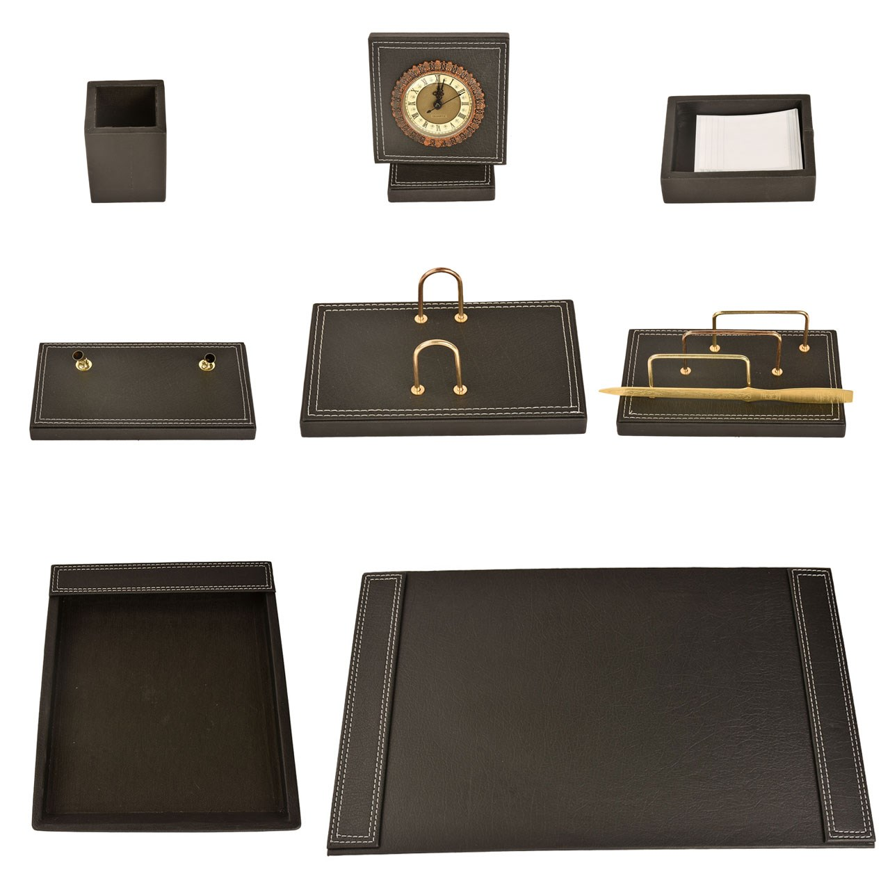 مجموعه لوازم اداری رومیزی 7 تکه پارینه مدل DS5- 3