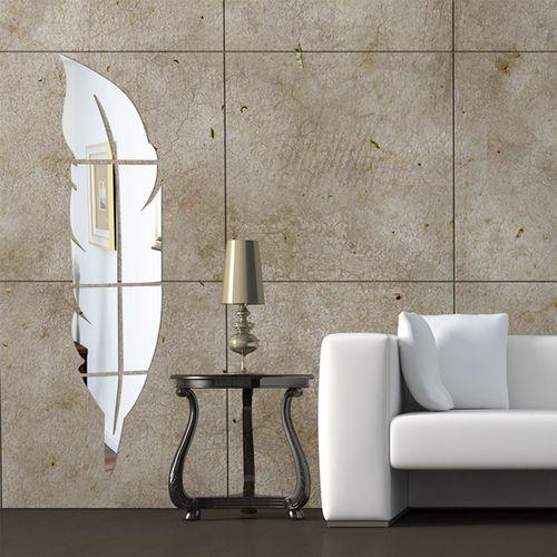 آینه پلکسی گلس دکووال مدل A206  شش قطعه