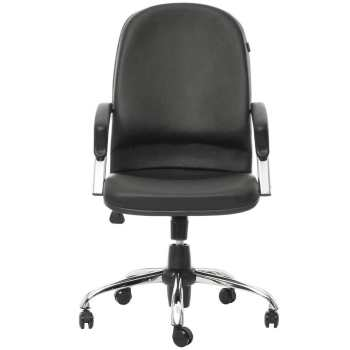 صندلی اداری چرمی راد سیستم مدل E415k