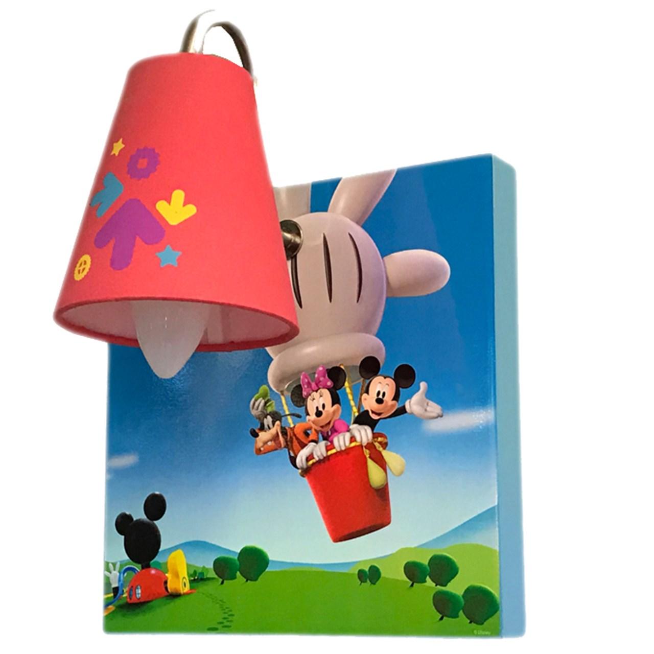 چراغ دیوارکوب دکوفان مدل Mickey Mouse 2