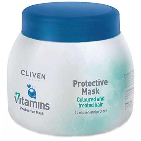 ماسک مو کلیون مدل Protective Mask مناسب برای موهای رنگ شده حجم 500 میلی لیتر