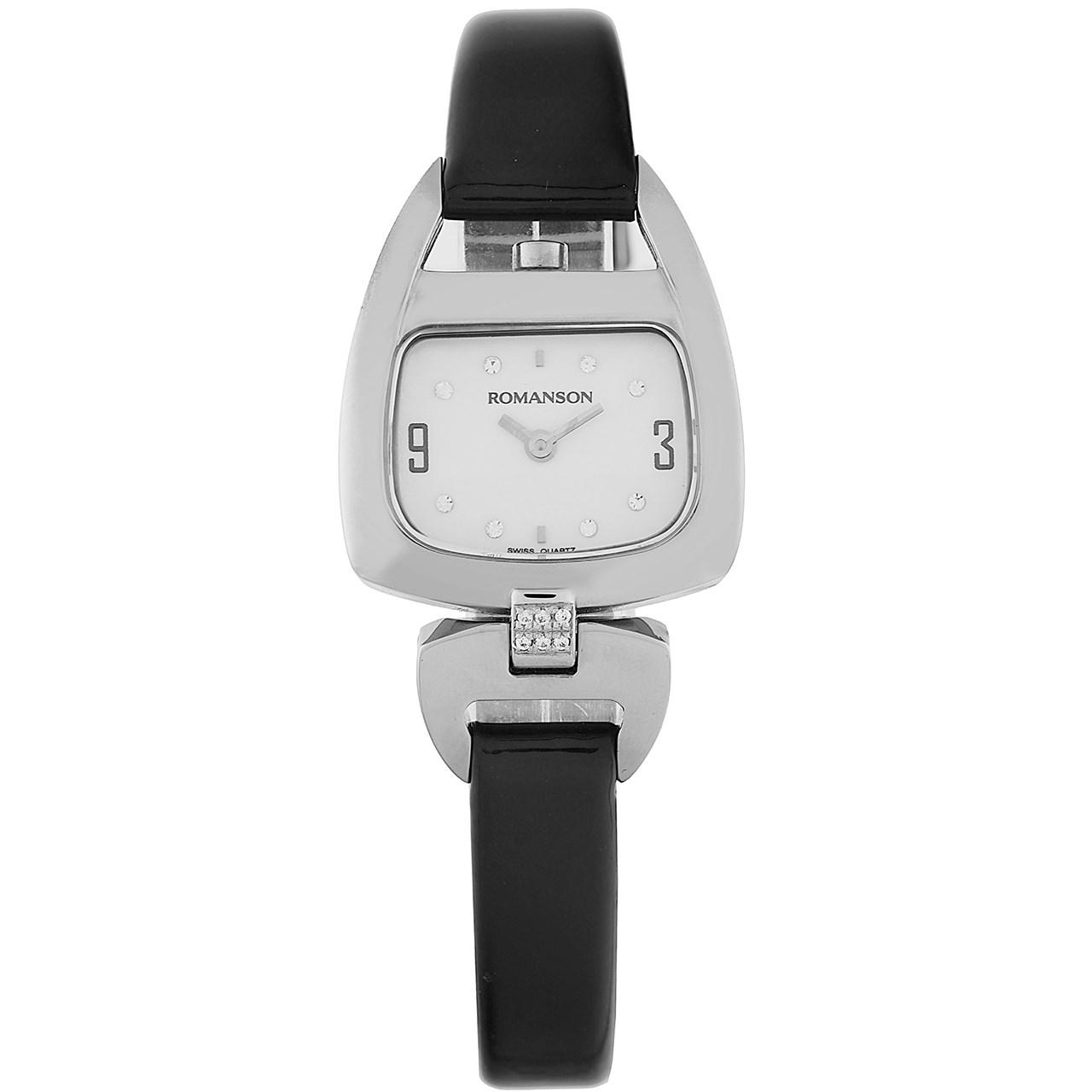 ساعت مچی عقربه ای زنانه رومانسون مدل RN1206QL1WM12W 42