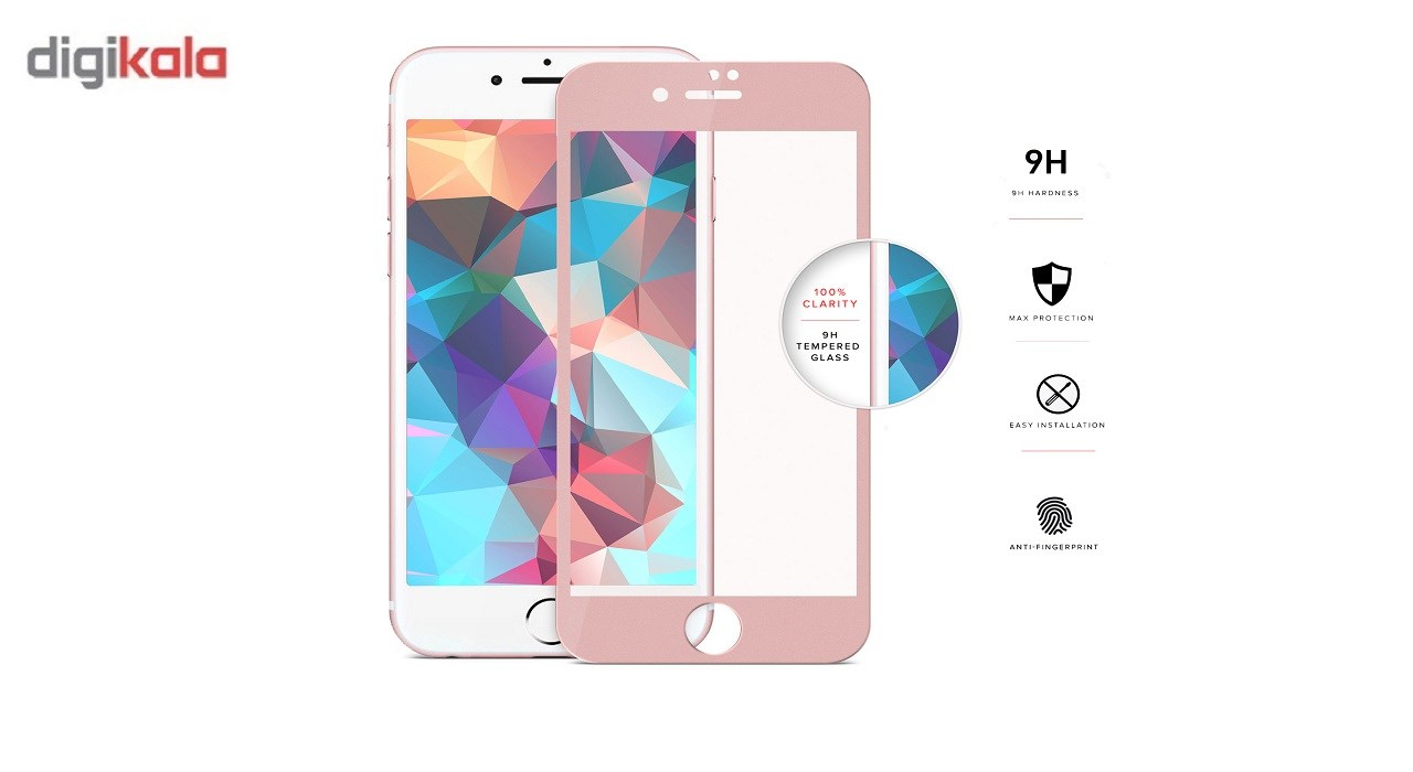 محافظ صفحه نمایش شیشه ای  مدل tempered  مناسب برای گوشی ایفون 6/6s              ( قیمت و خرید)
