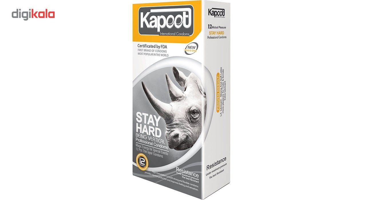 کاندوم تاخیری کاپوت مدل Stay Hard بسته 12 عددی main 1 1