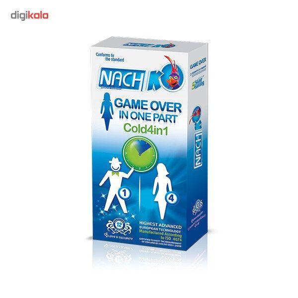 کاندوم تحریک کننده بانوان کدکس مدل Game Over In One Part Cold 4in1 بسته 12 عددی main 1 1