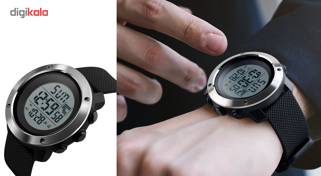 ساعت مچی دیجیتال مردانه اسکمی مدل 1267 کد 01