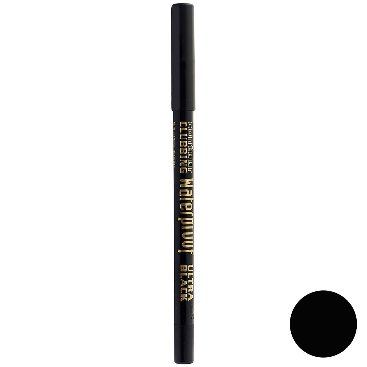 مداد چشم بورژوآ مدل Contour Clubbing Waterproof شماره 54