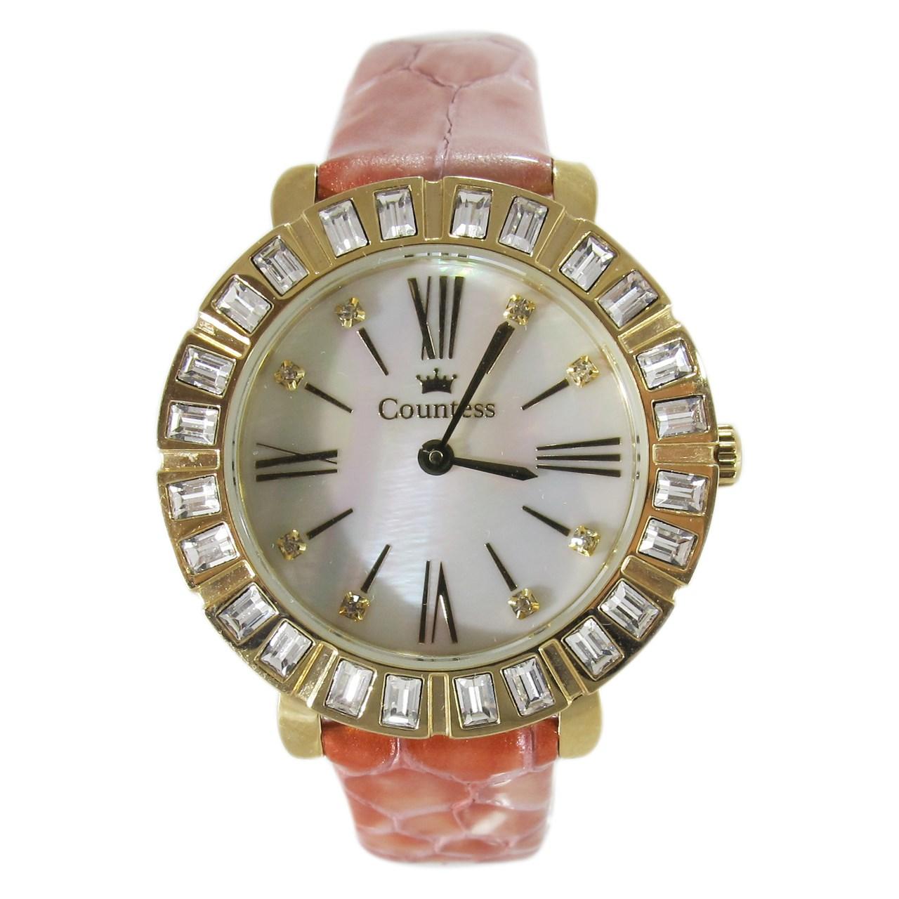 ساعت مچی عقربه ای زنانه کنتس مدل CTS14607GA