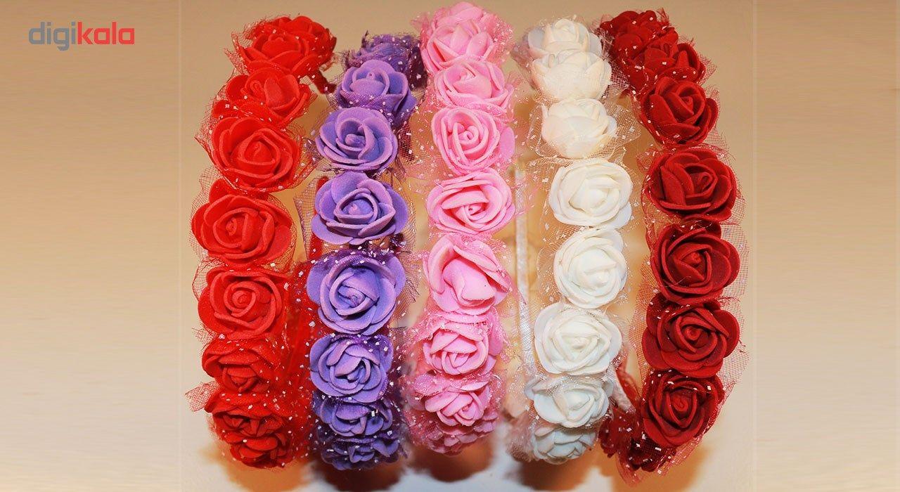 ست تل و گیره پاپیونی مدل rose-5 -  - 2