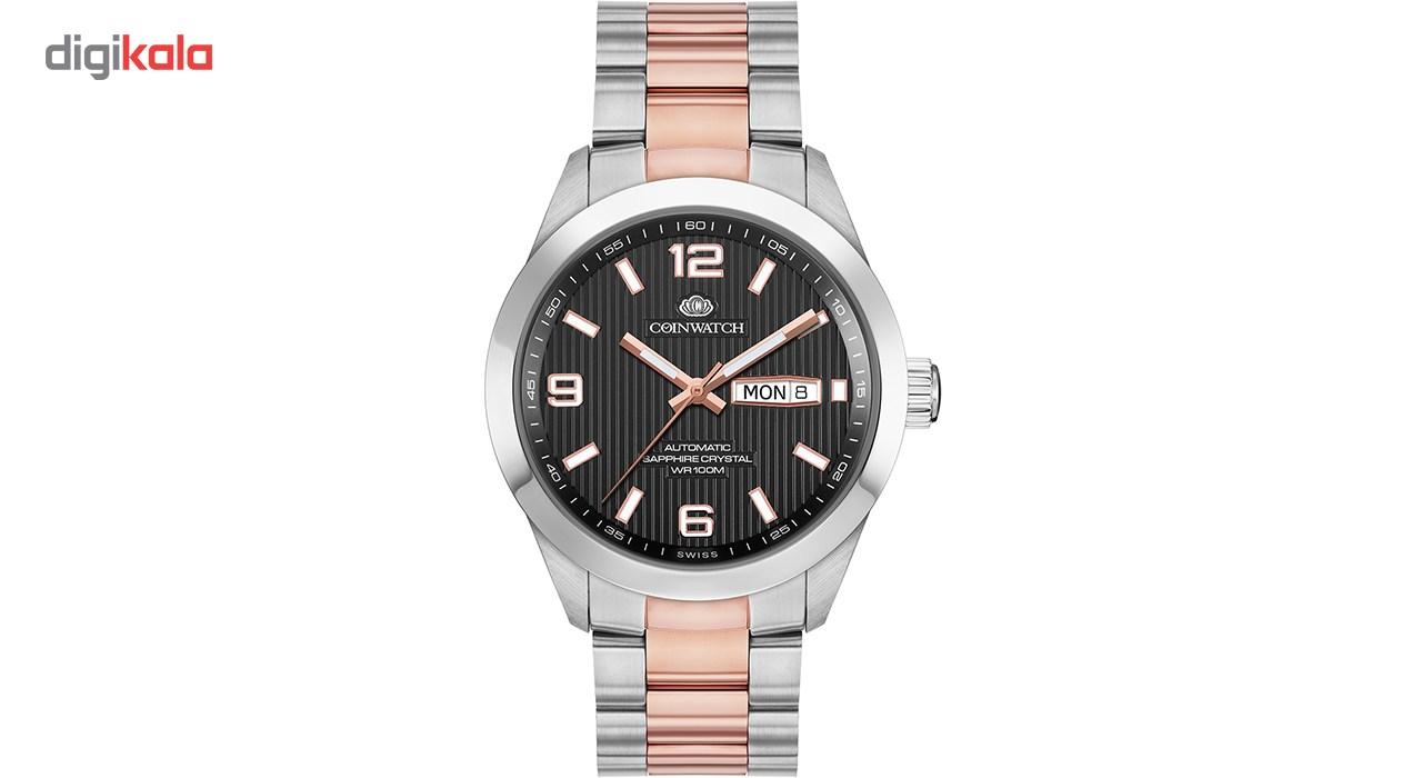 ساعت مچی عقربه ای مردانه کوین واچ مدل C151RBK