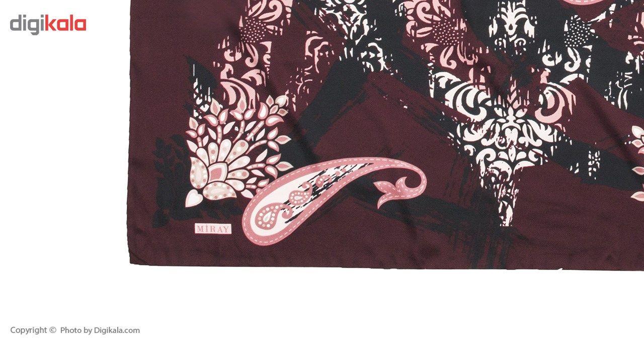 روسری میرای مدل M-244 - شال مارکت -  - 3