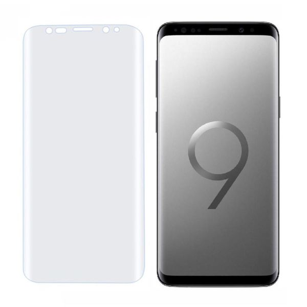 محافظ صفحه نمایش تی پی یو پروگلس مدل TPU Full Cover مناسب برای گوشی موبایل سامسونگ Galaxy S9 Plus